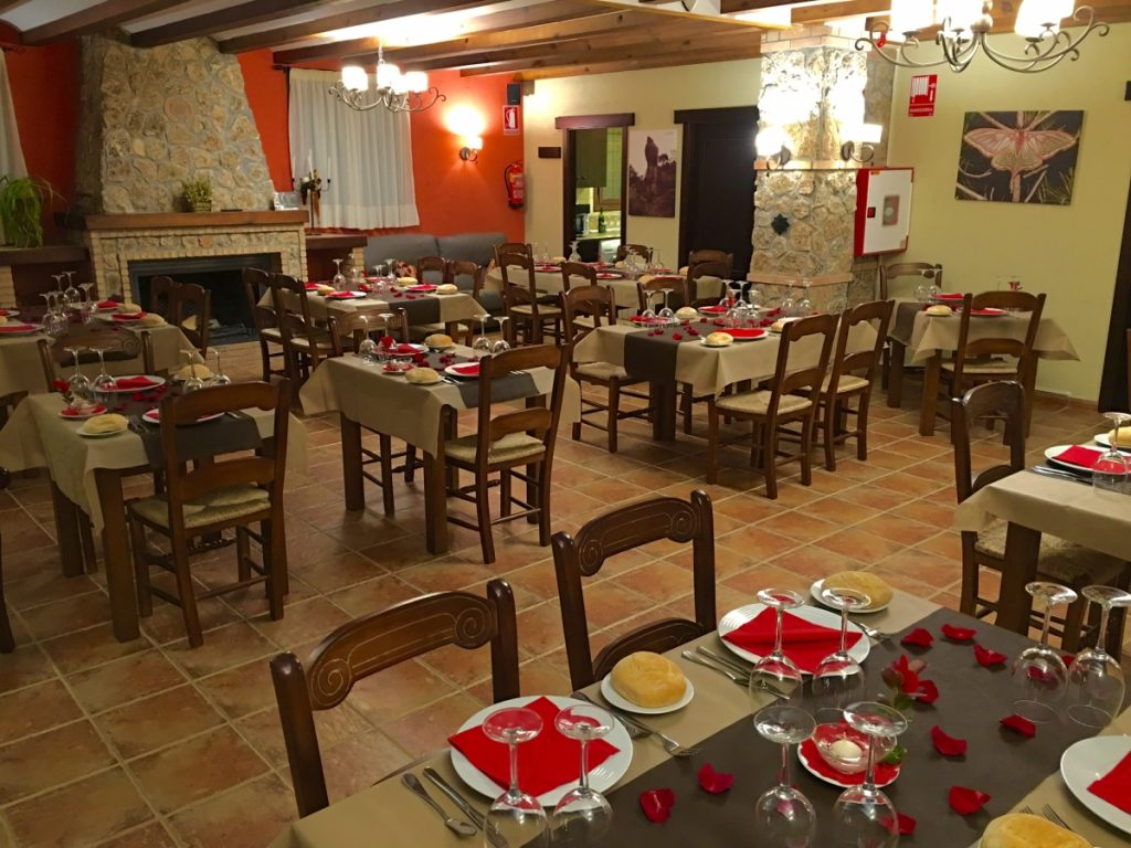 Restaurante hotel rural valle del turrilla